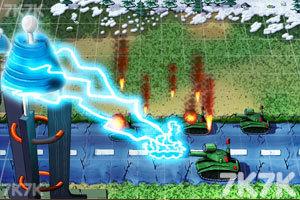 《坦克防御大战无敌版》游戏画面1