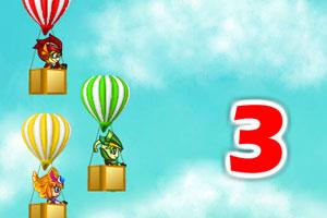 《木奇灵氢气球大赛》游戏画面1