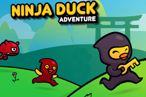 《忍者鸭历险记》游戏画面1