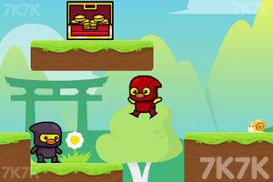 《忍者鸭历险记》游戏画面3
