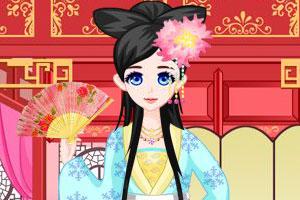 《中国公主装扮记》游戏画面1
