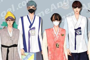 《时尚男版韩服》游戏画面1