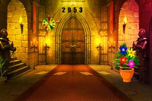 《墓地城堡逃脱》游戏画面1