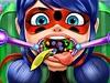 瓢虫女孩的口腔护理