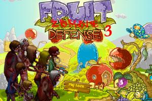 《水果保卫战僵尸版3》游戏画面1