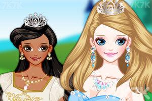 《女孩的童话婚礼》游戏画面1