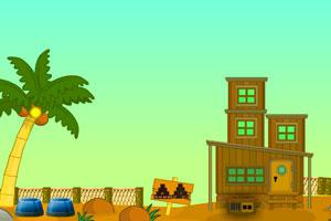 《逃离沙漠木屋》游戏画面1