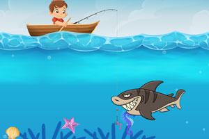 《钓鱼也疯狂》游戏画面1