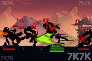 《火柴人联盟1.1无敌版》游戏画面1