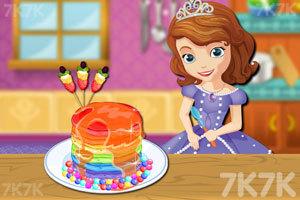 《彩虹煎饼》游戏画面1