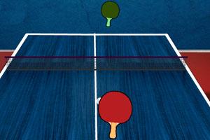 《乒乓球对战》游戏画面1