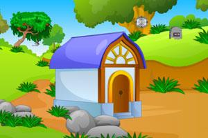 《逃离花园小屋》游戏画面1