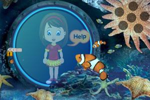 《救出水下的女孩》游戏画面1