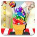 彩虹冰淇淋的制作