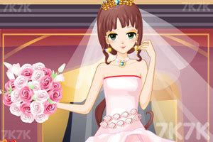 《漂亮新娘妆》游戏画面3