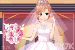 《漂亮新娘妆》游戏画面2