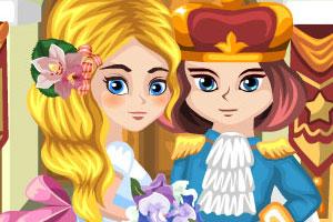 《豌豆公主拼图故事书》游戏画面1
