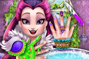 《乌鸦女王指甲水疗》游戏画面1