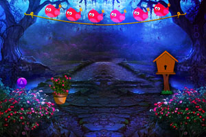 《逃出紫色森林城堡》游戏画面1