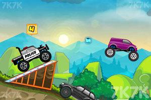 《大卡车狂飙赛》游戏画面2