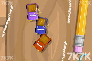 《迷你世界赛车无敌版》游戏画面1
