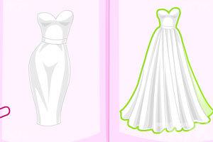 《设计你的海滩婚纱》游戏画面4