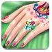 公主的指甲护理
