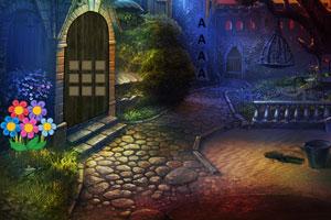 《黑暗镇街道逃脱》游戏画面1