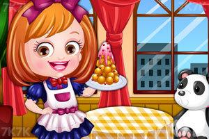 《可爱宝贝当服务员》游戏画面2