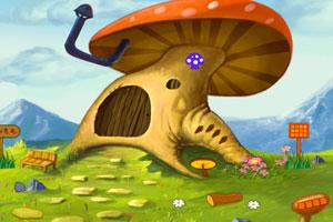 《小狗逃出蘑菇屋》游戏画面1