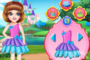 《小公主的城堡》游戏画面2