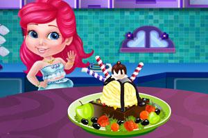 《公主制作冰淇淋》游戏画面1