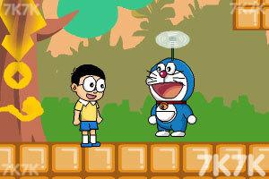 《哆啦A梦的摇钱树4无敌版》游戏画面1