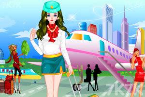 《空姐装扮》游戏画面1