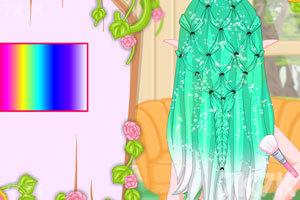 《精灵公主编发》游戏画面2