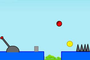 《红球冒险记》游戏画面1
