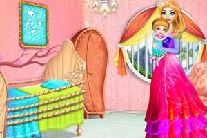 《装饰可爱婴儿房》游戏画面1
