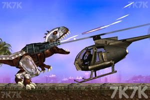 《霸王龙大战食人鲨》游戏画面2