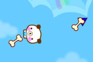 《飞天小熊收骨头》游戏画面1