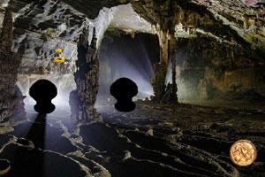 《逃离阴暗的洞穴》游戏画面1
