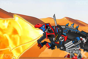 《组装机械暗黑霸王龙》游戏画面2