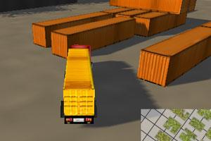 《3D运输大卡车》游戏画面1