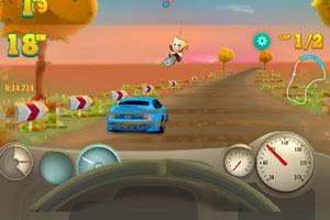 《海岸赛车大奖赛》游戏画面1