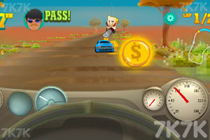 《海岸赛车大奖赛》游戏画面2