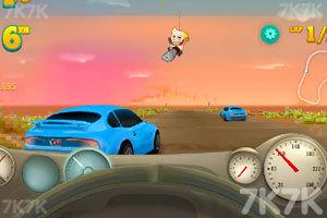 《海岸赛车大奖赛》游戏画面3