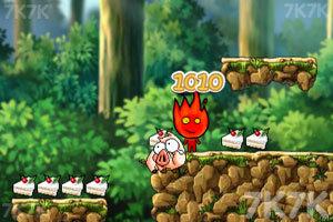 《冰火人GoGo2无敌版》游戏画面2