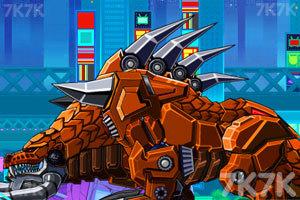 《组装机械刺龙》游戏画面1