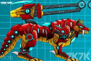 《狂暴机器人狼》截图2