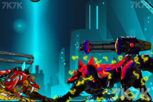 《狂暴机器人狼》截图3