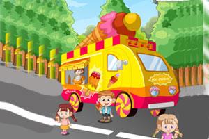 《冰淇淋卡通车》游戏画面1